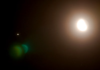 Our moon, Jupiter and three of hers
